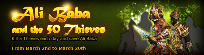 Ali Baba and the 50 Thieves